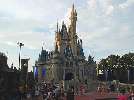 Дисней-парк во Флориде. Замок спящей красавицы