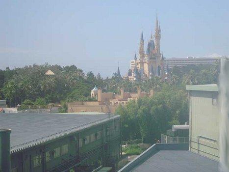Дисней-парк в японии. Замок спящей красавицы